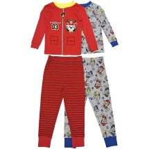 PAW Patrol Toddler Boys 4-Piece 2-Pack Sleep Set