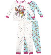 PAW Patrol Toddler Girls 4-Piece 2-Pack Sleep Set
